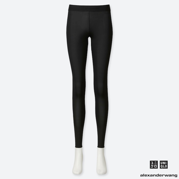 WOMEN AIRism LEGGINGS (ALEXANDER WANG), BLACK, large