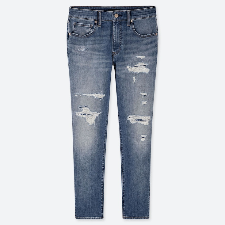 MEN ULTRA STRETCH SKINNY FIT DISTRESSED JEANS