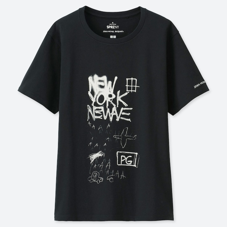 WOMEN SPRZ NY JEAN-MICHEL BASQUIAT UT (SHORT-SLEEVE GRAPHIC T-SHIRT), BLACK, large