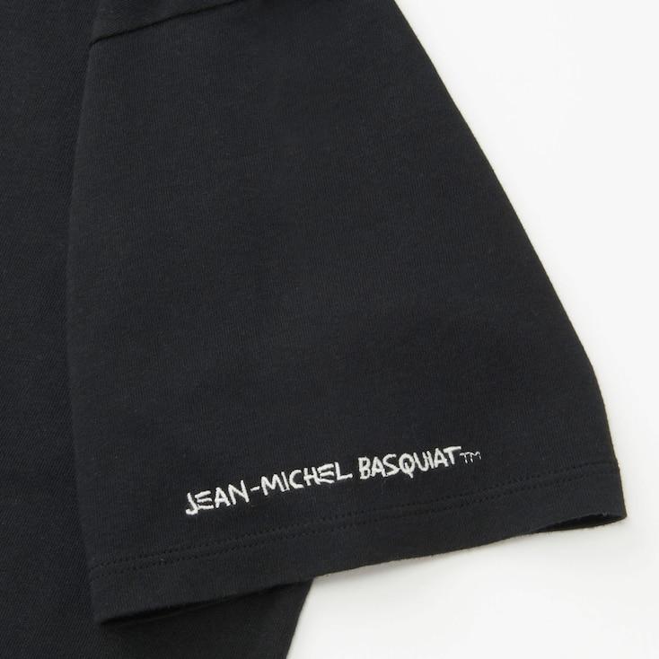 Women Sprz Ny Jean-Michel Basquiat Ut (Short-Sleeve Graphic T-Shirt), Black, Large