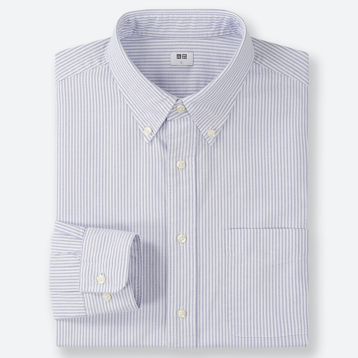 CAMISA OXFORD REGULAR FIT RAYAS HOMBRE