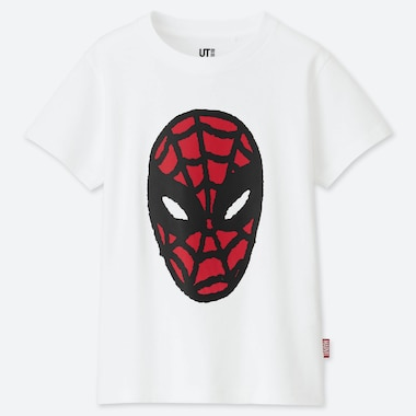 KIDS MARVEL x JASON POLAN UT (SHORT-SLEEVE GRAPHIC T-SHIRT), WHITE, medium