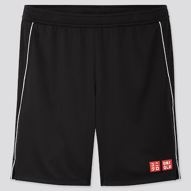 MEN DRY SHORTS (ROGER FEDERER 19US), BLACK, medium