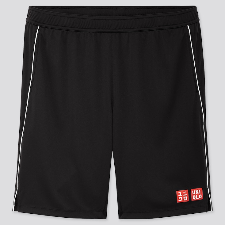 MEN DRY SHORTS (ROGER FEDERER 19US), BLACK, large