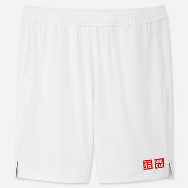 MEN DRY SHORTS (ROGER FEDERER 19WB), WHITE, medium