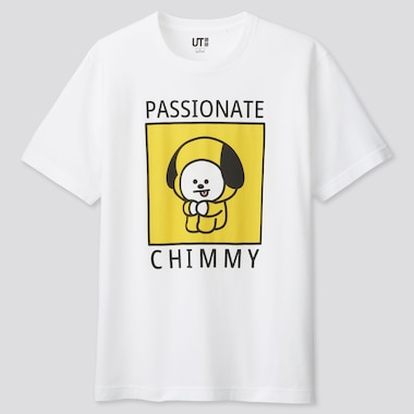 ADULT UNIVERSTAR BT21 UT GRAPHIC T-SHIRT