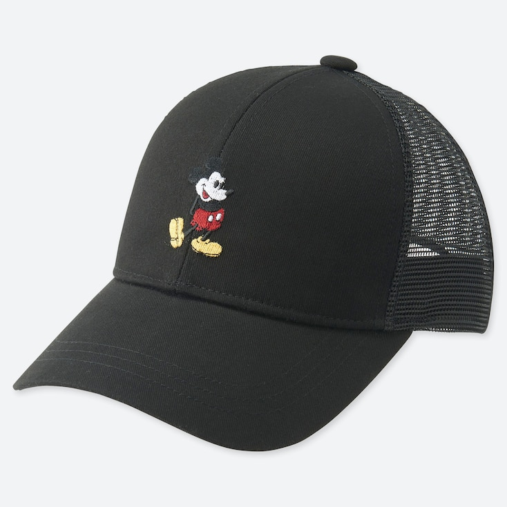 KIDS MICKEY STANDS MESH CAP, BLACK, large