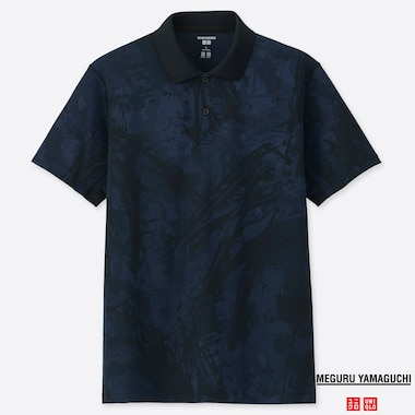 MEN DRY-EX PRINTED POLO SHIRT