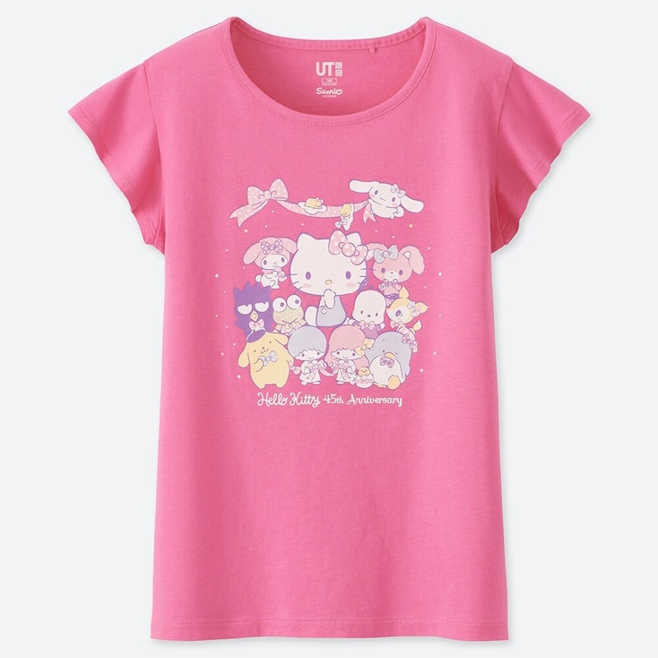 GIRLS SANRIO CHARACTERS UT GRAPHIC T-SHIRT
