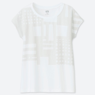 T-SHIRT UT STAMPA SUPERGEOMETRIC GEORGE SOWDEN DONNA