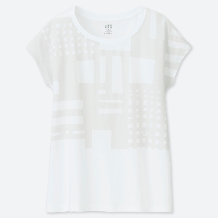 WOMEN SUPERGEOMETRIC GEORGE SOWDEN UT GRAPHIC T-SHIRT
