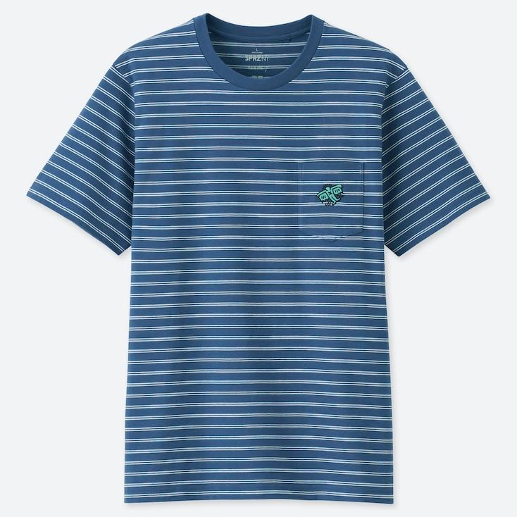 SPRZ NY KEITH HARING UT (SHORT-SLEEVE GRAPHIC T-SHIRT), BLUE, large