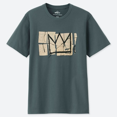 MEN SPRZ NY JEAN-MICHEL BASQUIAT UT GRAPHIC T-SHIRT