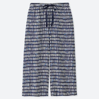 WOMEN MICKEY BLUE RELACO 3/4 SHORTS, NAVY, medium
