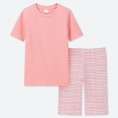 GIRLS DRY STRETCH SET, PINK, medium