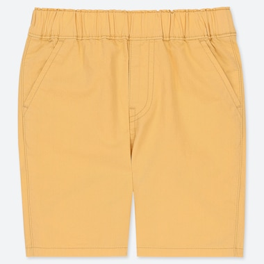 TODDLER SHORTS, YELLOW, medium