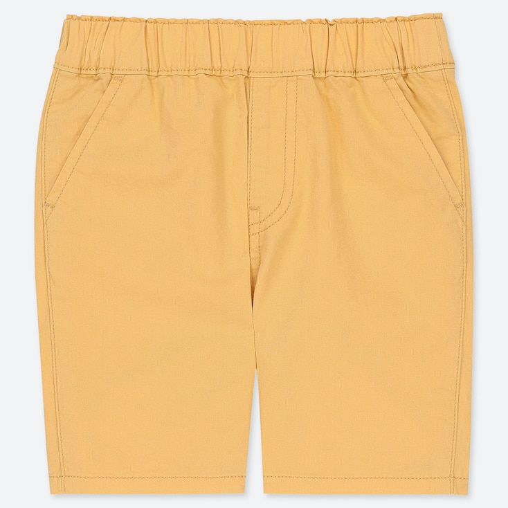 TODDLER SHORTS, YELLOW, large