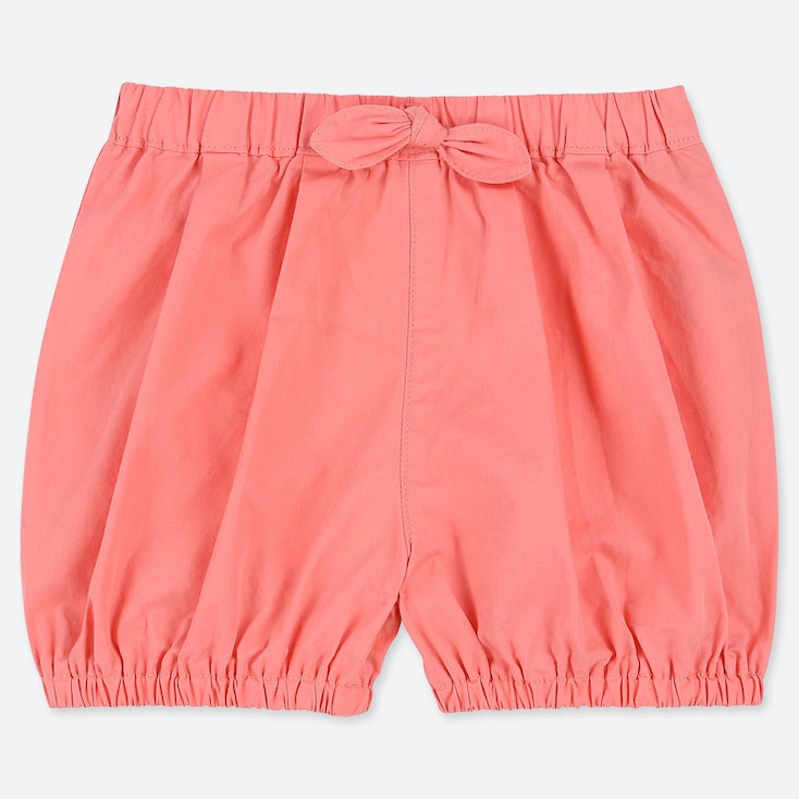 TODDLER PUMPKIN SHORTS, ORANGE, large