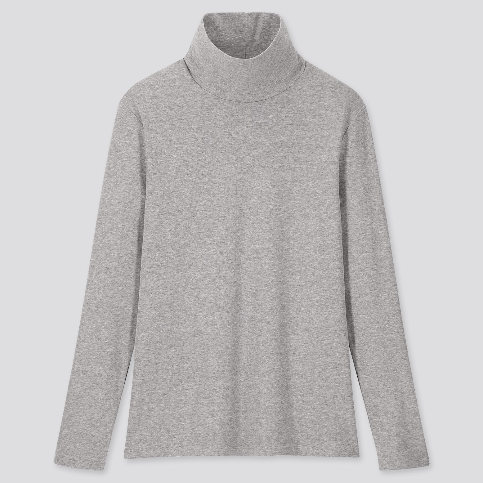 1*1 Ribbed Cotton Turtleneck Long Sleeve T Shirt by Uniqlo