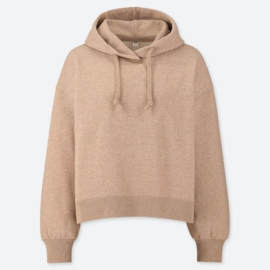 WOMEN CROPPED FIT PULLOVER HOODIE