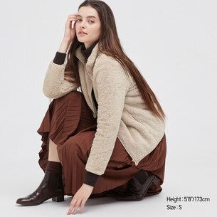 Fluffy Yarn Fleece Full-Zip Jacket/us/en/418242.html