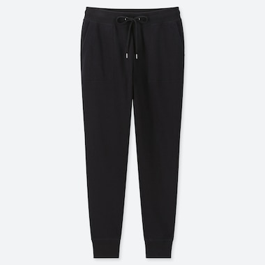Women Sweatpants, Black, Medium