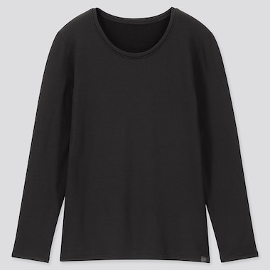 WOMEN HEATTECH ULTRA WARM CREW NECK LONG SLEEVED T-SHIRT