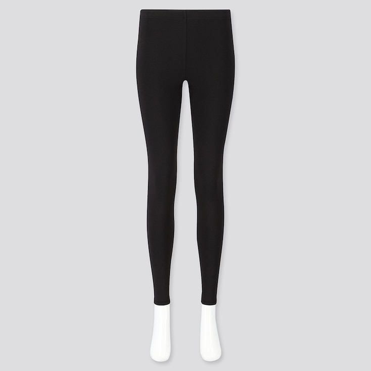WOMEN HEATTECH ULTRA WARM LEGGINGS, BLACK, large