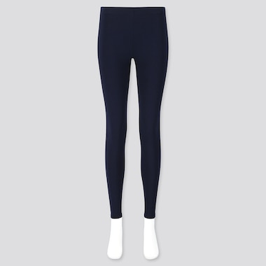WOMEN HEATTECH ULTRA WARM LEGGINGS, NAVY, medium