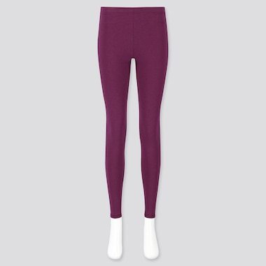WOMEN HEATTECH ULTRA WARM LEGGINGS, PURPLE, medium