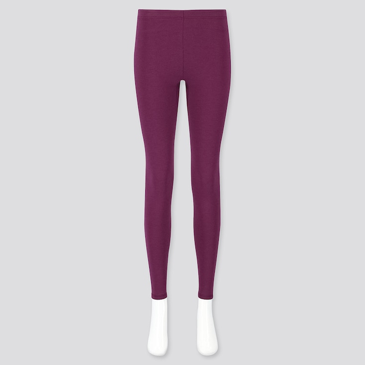 WOMEN HEATTECH ULTRA WARM LEGGINGS, PURPLE, large