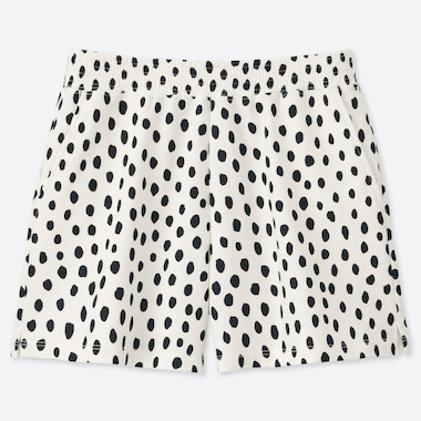 WOMEN Scandinavian SHORTS, OFF WHITE, medium