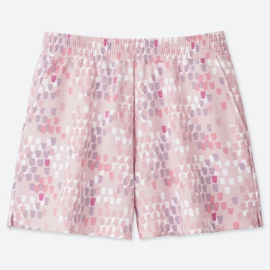 WOMEN Scandinavian SHORTS, PINK, medium