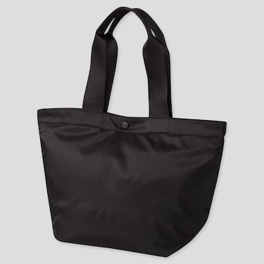 NYLON TOTE BAG, BLACK, medium
