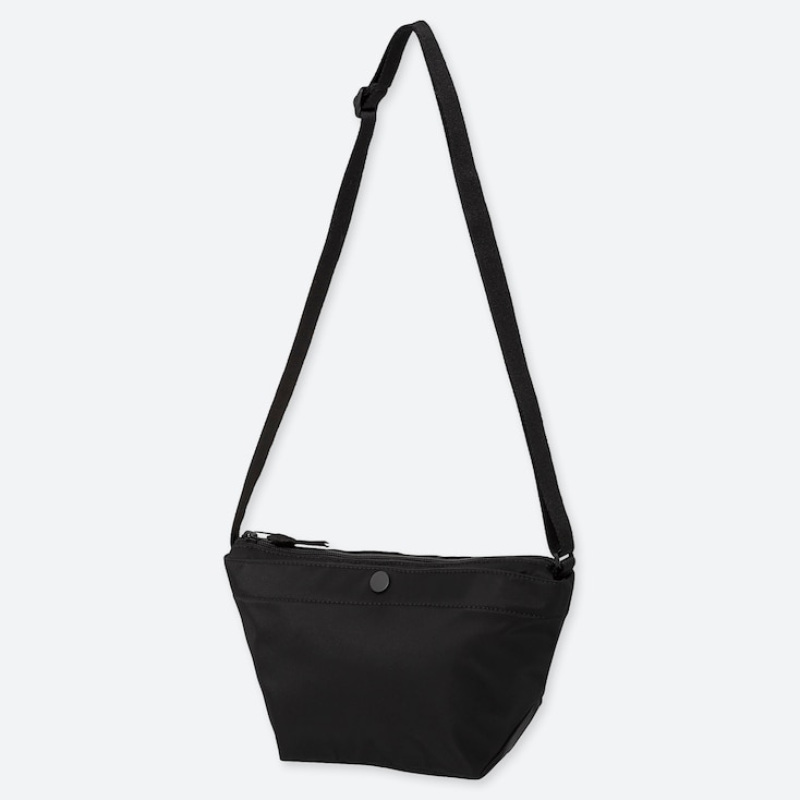 NYLON MINI SHOULDER BAG, BLACK, large