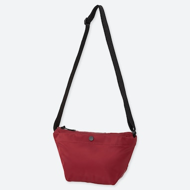 NYLON MINI SHOULDER BAG, RED, medium