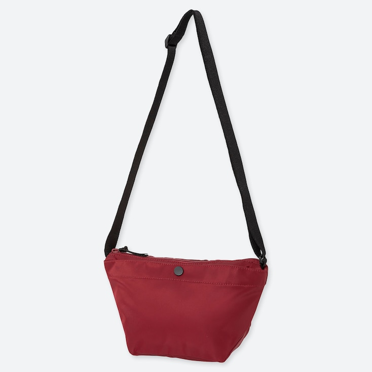 NYLON MINI SHOULDER BAG, RED, large