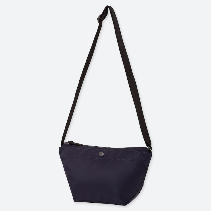 NYLON MINI SHOULDER BAG, NAVY, large