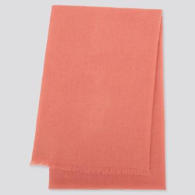 Cashmere Stole, Pink, Medium