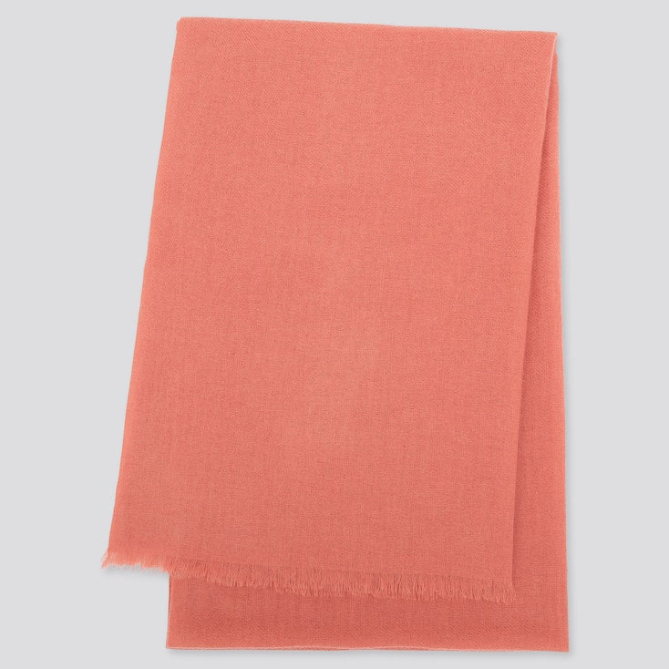 Cashmere Stole, Pink, Large