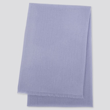 CASHMERE STOLE, PURPLE, medium