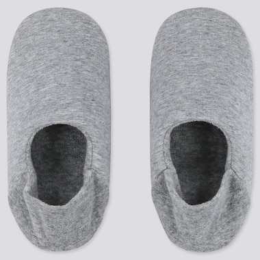 WOMEN SLIPPERS, GRAY, medium