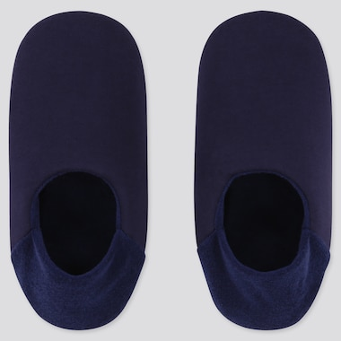 WOMEN SLIPPERS, NAVY, medium