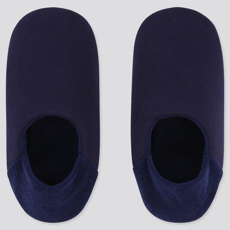 WOMEN SLIPPERS, NAVY, large