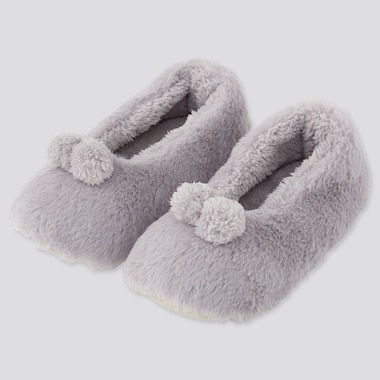 WOMEN FLUFFY YARN SLIPPERS