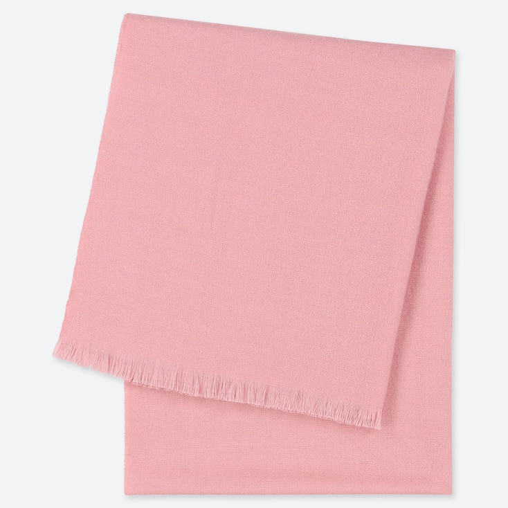 WOMEN LIGHT STOLE, PINK, large