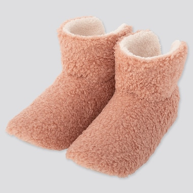 WOMEN FLUFFY FLEECE SLIPPERS BOOTS