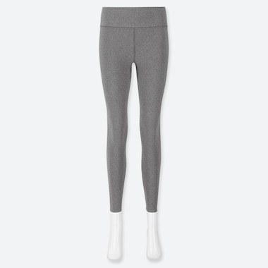 WOMEN AIRism SOFT LEGGINGS, GRAY, medium