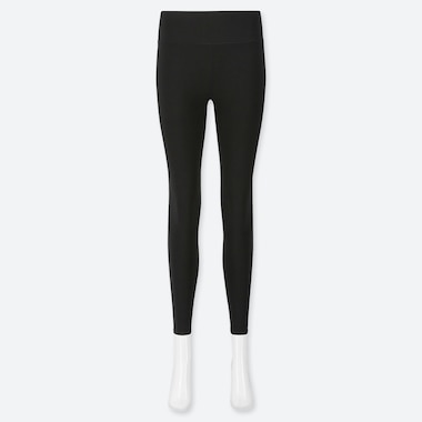 Women Airism Soft Leggings, Black, Medium