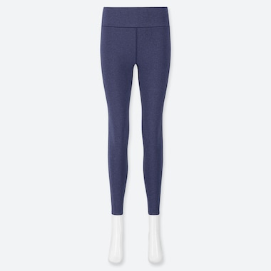 Women Airism Soft Leggings, Blue, Medium